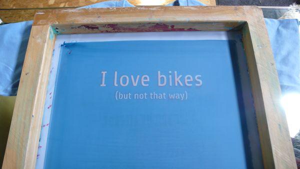 Love bikes screen