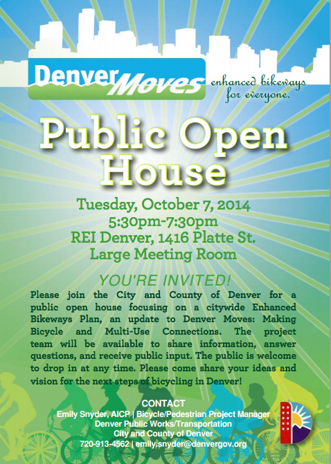 Denver Moves - Public Open House