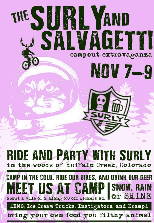 2014 Surly Extravaganza Poster