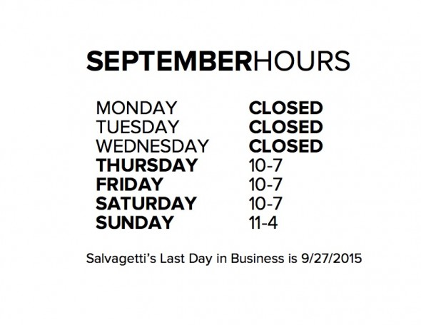 SEPTEMBERHOURS